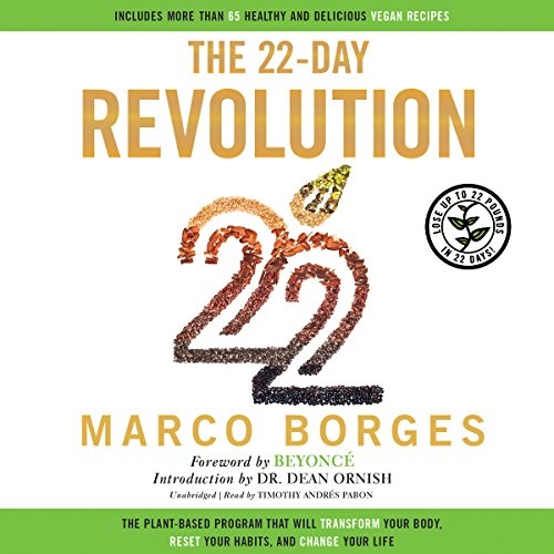 The 22-Day Revolution audiobook cover art