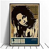 chtshjdtb Lauryn Hill Musik Sänger Poster Hip Hop Rap