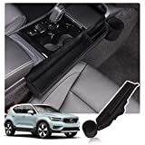 YEE PIN XC40 Center Console Organizer Tray Side Pocket Organizer Storage Box Cup Holder Compatible with XC40 2019