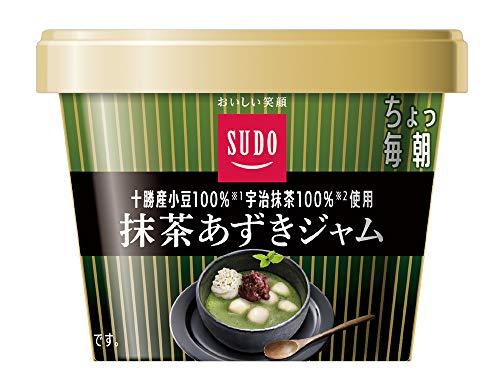 スドージャム 抹茶あずきジャム 130g ×6個