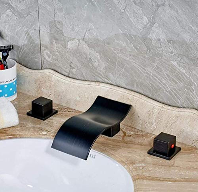Messing Wandhahn Chrom Messinghahn Deck Montiert Waschbecken Wasserhahn Wasserfall Auslaufhahn