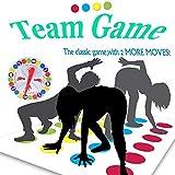 ZoneYan Juegos Suelo,Juego de Piso Familiar Tapete de Juego, Juegos de Mesa, Divertidos Juegos de Habilidad para niños y Adultos