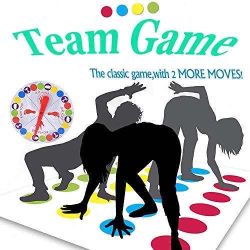 ZoneYan Partyspiele, Geschicklichkeitsspiel für Kinder & Erwachsene, Familienspiel, Partyspiel, lustiges Spiel für Kindergeburtstage