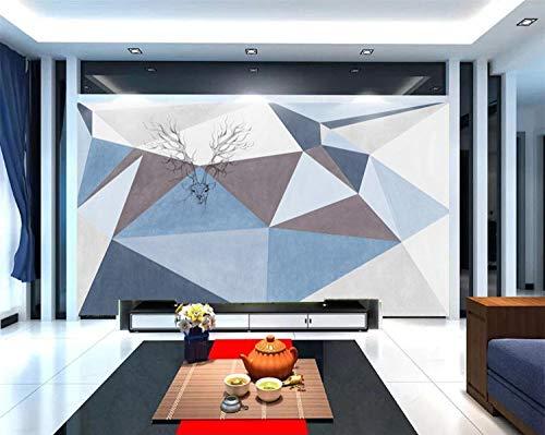 XHXI 5D nórdico imitación de mármol decoración del hogar Mural personalizado sala de estar TV fondo papel tapiz película pa papel Pintado de pared tapiz Decoración dormitorio Fotomural-350cm×256cm