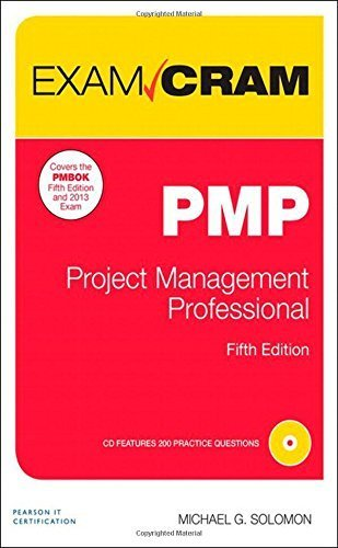 PMP Exam Cram: Project Management Professional (5th Edition) 5th edition by Solomon, Michael G. (2014) Paperback