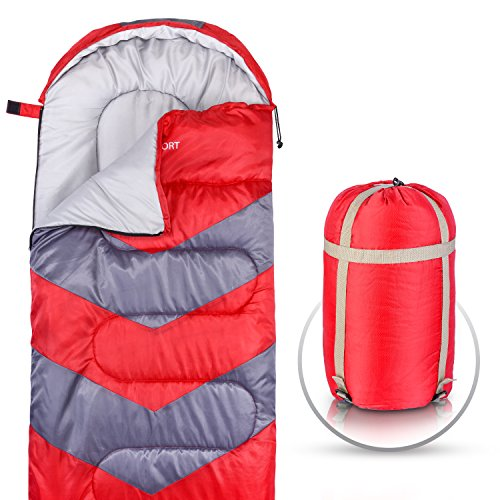 Abco Tech Sleeping Bag – Envelope Lightweight...
