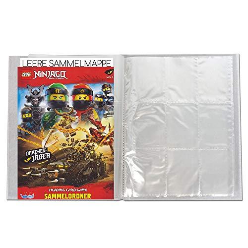 Blue Ocean Lego Ninjago - Serie 4 Trading Cards - 1 Leere Sammelmappe - Deutsch