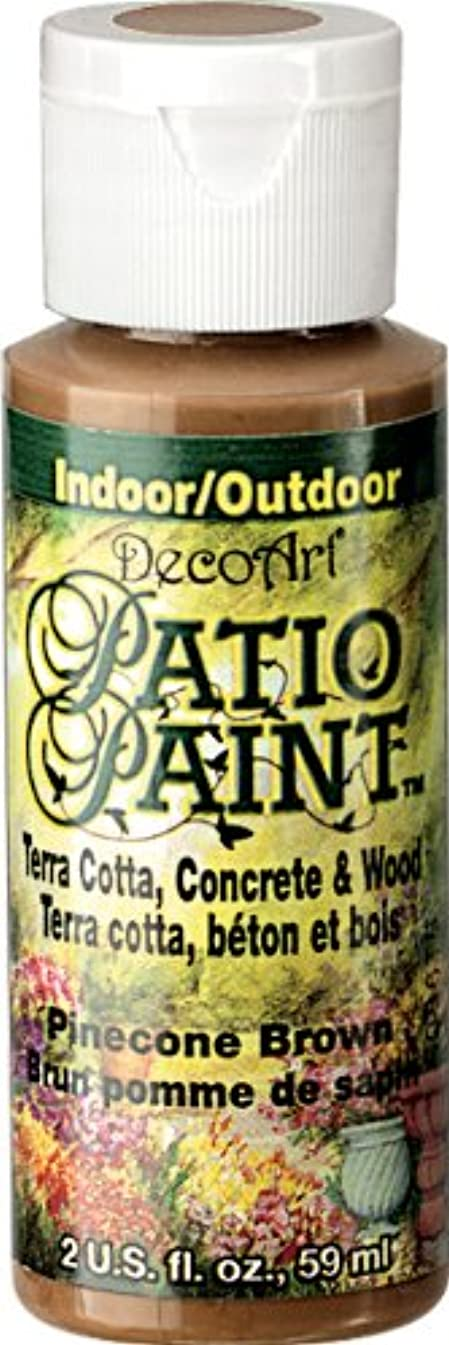 DecoArt Patio Paint, 2-Ounce, Pinecone Brown
