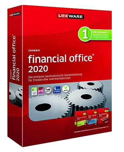 Lexware financial office 2020|basis-Version Minibox (Jahreslizenz)|Einfache kaufmännische Komplett-Lösung für Freiberufler, Selbständige und Kleinunternehmen