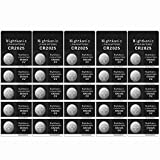Nightkonic 25 - CR2025 Battery 3v Lithium Button Cell...
