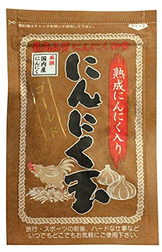 にんにく玉本舗 にんにく玉ゴールド 1袋 60粒入 国産 にんにく卵黄 黒にんにく サプリ
