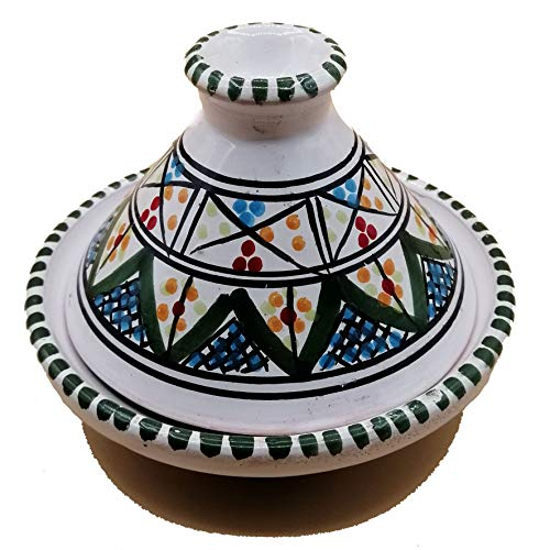 Mini Tajine Ethnico Gewürzständer aus Keramik Marokkanische Tunesin 1211201231