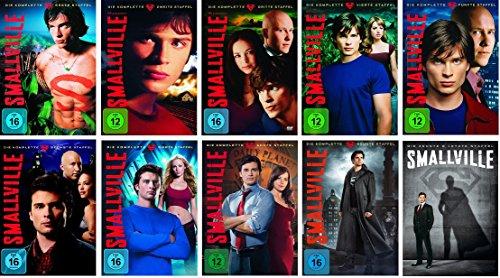 Smallville Staffel/Season 1+2+3+4+5+6+7+8+9+10 * DVD Set
