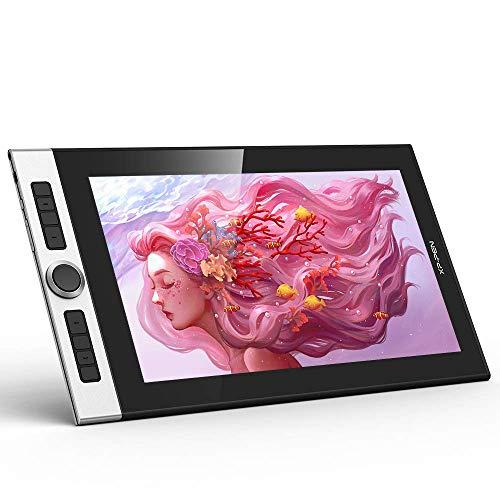 """XP-PEN Innovator 16 Grafiktablett, 15,6\"""" volllaminierter Display (1080x1920), 92{8f611f37286fce4625c7e5c26bb2b2e7e665c52fe11a7f67fd955acc91f476a8} Adobe RGB 60° TIlt, kreatives Einstellrad mit Ständer Gratissoftware, 9mm ultradünnes Zeichentablett für PC"""