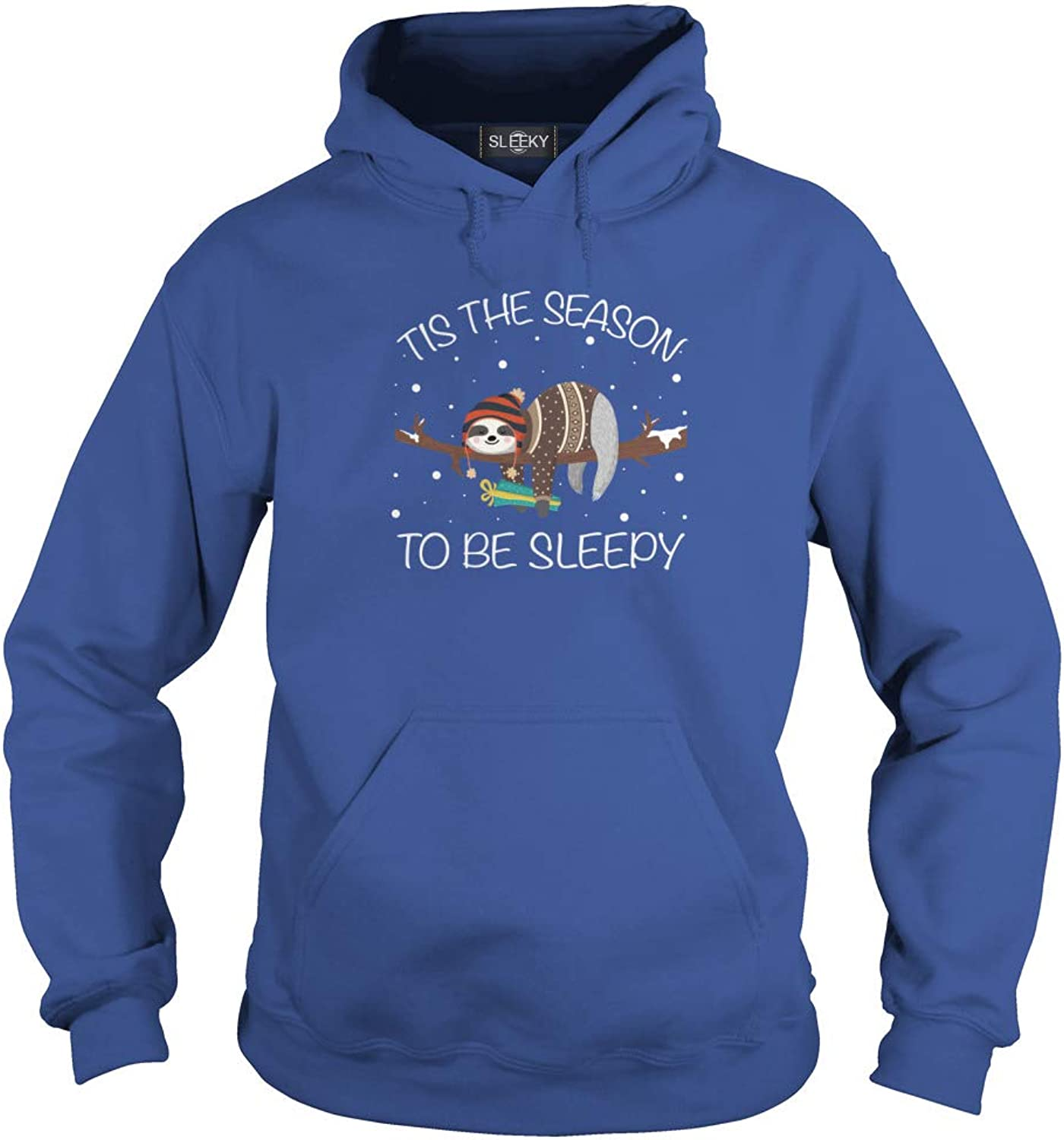 Sloth Tis The Season to Be Sleepy Hoodie