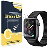 UniqueMe [6 Pièces] Protection écran pour Apple Watch 38mm Series 1/2/3, [Case Friendly] [Film...