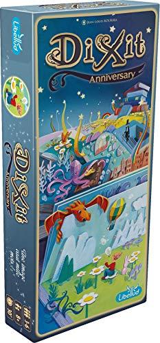 Dixit 9 - Erweiterung Anniversary - Asmodee - Gesellschaftsspiel - Brettspiel - Phantasie Spiel