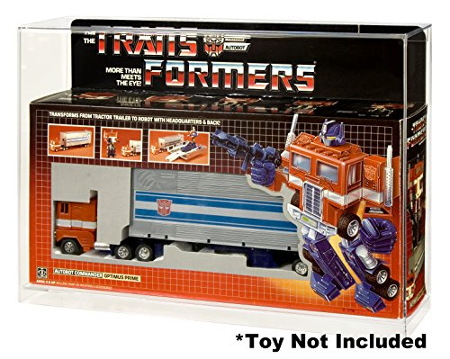 Action Figure Authority Transformers Optimus Prime Acrylic Display Case
