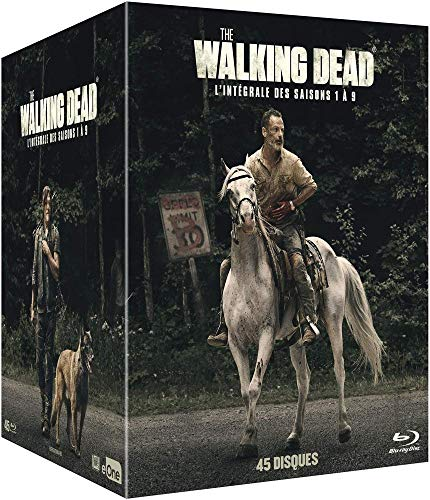 The Walking Dead saisons 1 à 9 en Blu-ray