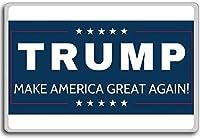 2016年米大統領選挙 - トランプはアメリカグレートアゲインください冷蔵庫用マグネット
