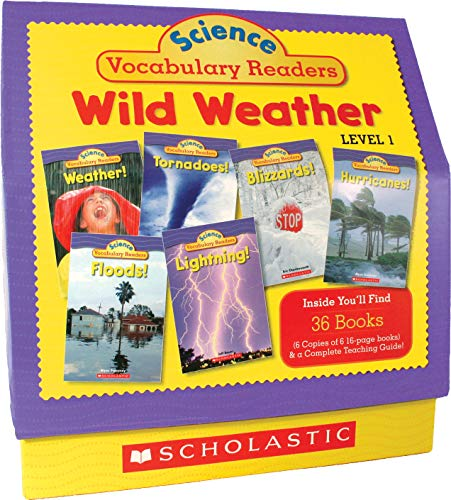 Science Vocabulary Readers: Wild Weather: Level 1の詳細を見る