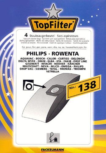 Top Filter 4 Staubsaugerbeutel Nr. 138