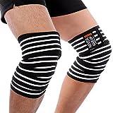 yosoo Knee Wraps Elbow Wraps elástica de compresión de rodilla, apoyo tus Muslo rodilla Leg, ideal...