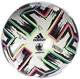 adidas Uniforia Mini Ball, White/Black/Signal Green/Bright Cyan, 1