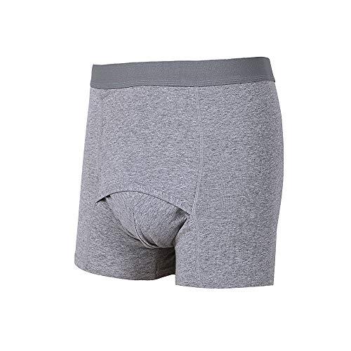 Incontinentiebroekjes voor bescherming tegen lekken 's nachts - Herbruikbare luiersbroek voor volwassenen voor zware menstruatie en postpartumbloeding,XXL