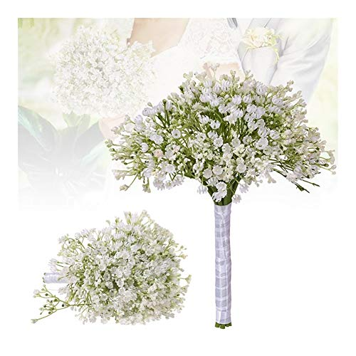 Roovtap Plastikblumen Gypsophila Plant Simulation Bouquet High-End-Dekoration Getrocknete Blumen Fake Flowers Hauptdekorationen Dried Flower (Color : Green)