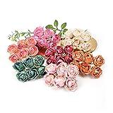Boda Material De Flores De Seda Con Guirnalda Diy Ramo De Flores Decoración De Maquillaje Nupcial Peonía Rosa Ramo