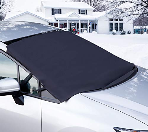 OxGord Windshield Snow Cover Ice Removal Wiper Visor Protector All Weather Winter Summer