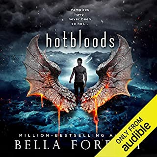Hotbloods audiobook cover art