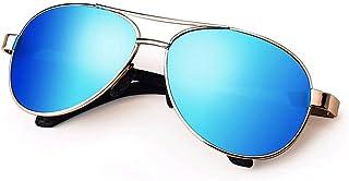 22a7aac504 LULUVicky-CS Gafas de Sol clásicas para Mujer para Hombre Lentes HD  polarizadas para Mujeres