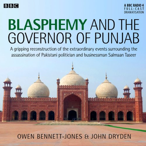 Blasphemy and the Governor of Punjab audiobook cover art
