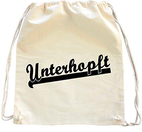 Mister Merchandise Trekkoord Tas Rugzak Unterhopft Bier Winkelen
