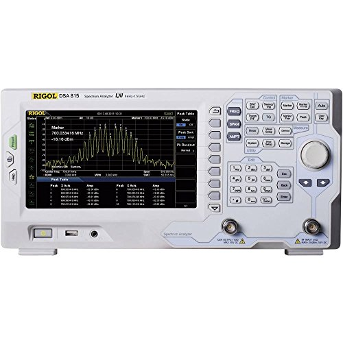 Rigol DSA815-TG Spektrumanalysator mit Trackinggenerator Frequenzbereich des Analysators d
