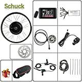 Schuck 48V 1000W 20'/24'/26'/27.5'/28'/29'/700C Front Wheel Electric...