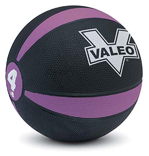Valeo Medicine Ball With Sturdy Rubber