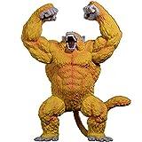 Maniny Dragon Ball Ape-Son-Goku Figuras de acción, Transformación Super Saiyan Gran Simio Dorado Ado...