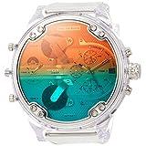 (ディーゼル) DIESEL メンズ ウォッチ 腕時計 クォーツ クロノ DZ742700QQQ UNI シルバー 01