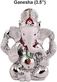 Monsoon Spice Company Essentials - Statue | Murtis | Gift | Car Decor | Idol | Lord | God | Puja | Pooja | Good Luck | Success (Ganesh | Lord, 3.5