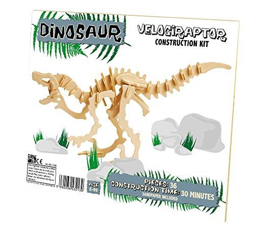 Professor Puzzle - Uk - 331845 - Kit De Construction - Dinosaur - Velociraptor