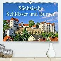 Saechsische Schloesser und Burgen (Premium, hochwertiger DIN A2 Wandkalender 2022, Kunstdruck in Hochglanz): Dieser Kalender zeigt einige der schoensten Burgen und Schloesser in Sachsen. (Monatskalender, 14 Seiten )