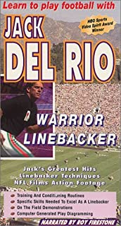 Learn to Play Football with Jack Del Rio Warrior Linebacker