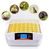 ZCXBHD 56 Uova Incubatrice con Analisi Luce Temperatura umidità Controllo Pollame Hatcher Automatico Svolta per Polli Anatre Uccelli (Size : 110V)