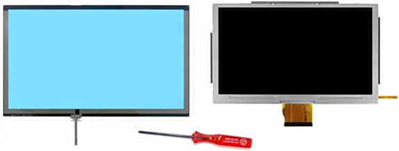 JahyShow® Assembled for Nintendo Wii U Gamepad LCD Screen with Glass Digitizer [Touch screen glass] Replacement Touch Screen+ Y-tool