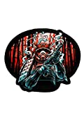 BJJ GI Patch by Ronin - Shogun Heishi Patch – Backpack Warrior Samurai Patch – Premium Kimono and Rucksack Patch – Animated Sewn Sticker with Intense Coloring – for Jackets and Shirts