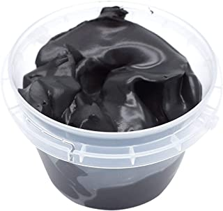 FENFEN Air Dry Clay Dough Ultra Light Molding Magic Clay with Bucket Toy for Kids (Black)
