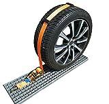 8 x 50 mm cinghia di fissaggio per pneumatici auto